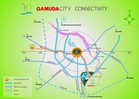 Dự án chung cư The One Residence tại Gamuda Gardens