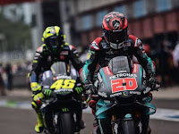 Quartararo Feel Rossi's Career in the Yamaha Manufacturing Team Has Reached the End....
