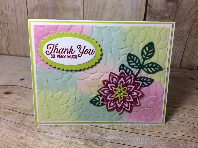 "Stampin""Up! 2017-19 In Colors"
