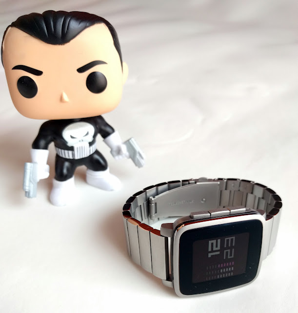 Pebble Time Steel (con correa de acero Pebble)