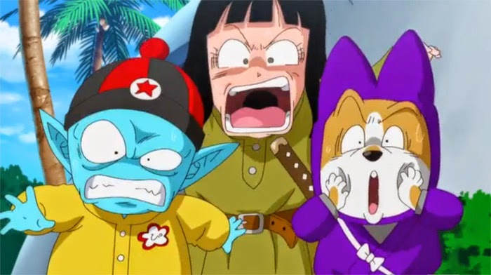 dragon ball, movie, emperor pilaf, mai, shu, foto, gambar, Revival no F