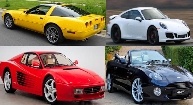 Michael Jordan Cars Collection