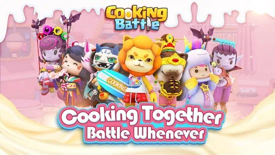 Cooking Battle! Apk+Data Free on Android Game Download