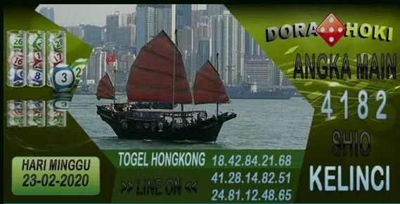 Prediksi Togel JP Hongkong 23 Februari 2020 - Prediksi DoraHoki
