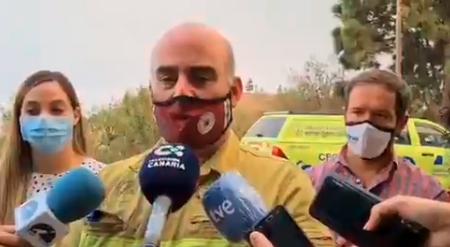 Esperanzas en el incendio de La Palma, 22 agosto, Canarias