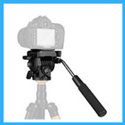 Tripod Action Fluid Drag Head