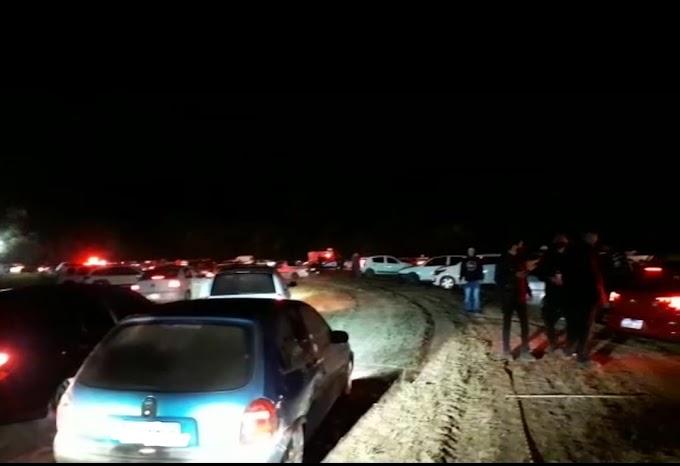 Brigada Militar fecha festa na Frederico Ritter em Cachoeirinha