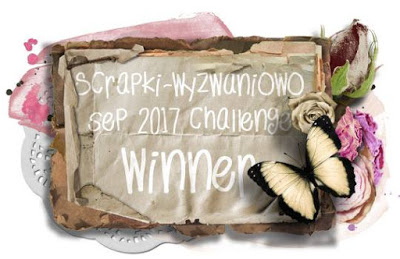 Scrapki-W Sept winner & November Guest DT