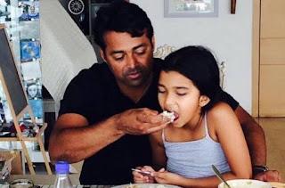 Leander Paes Daughter Aiyana