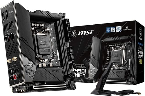 Review MSI MEG Z490I Unify Gaming Motherboard