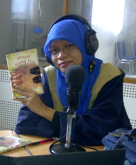 acara kepenulisan di radio
