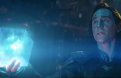 What powerful stone did Thanos get from Loki in Asgard?