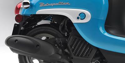 2016 Honda Metropolitan exhaust