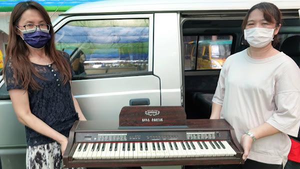 鹿港鎮立幼兒園與社區資源共享 捐樂器給聖母聖心啟智中心