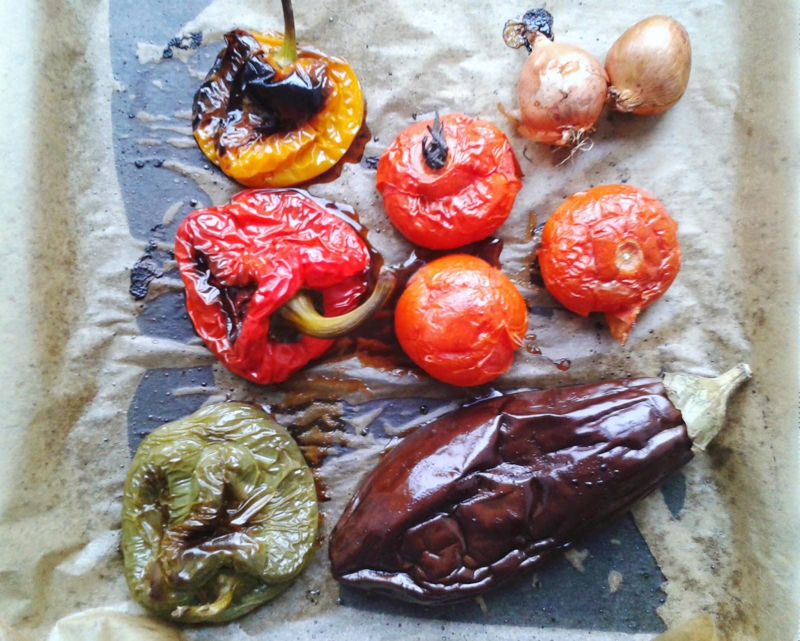 Mediterranean Roasted Veggies