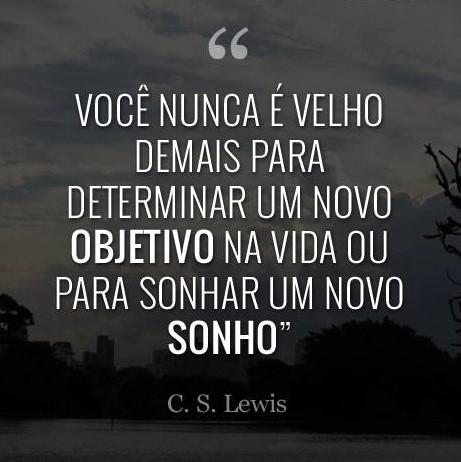 Blog Da Sonia Jordão Frases Cs Lewis