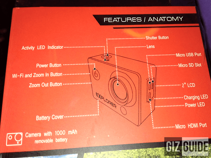 Cherry Action Cam Goes Official! Comes With 12 MP Camera And Tons Of Accessories For 3999 Pesos Only!