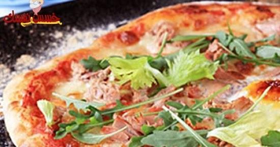 دايت – البيتزا بصلصة الفلفل المشوي وجبن الموتزريلا 6465465454