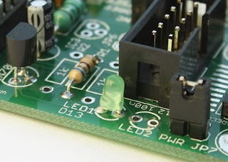 Resistor for LED calculator
