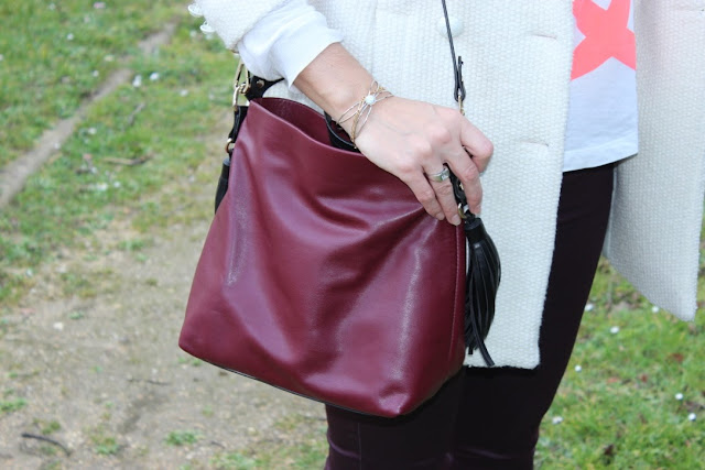 sac zara prune