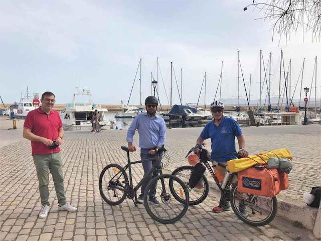 Ποδηλατικό ταξίδι 7.000 χιλιομέτρων περνάει και από την Αργολίδα