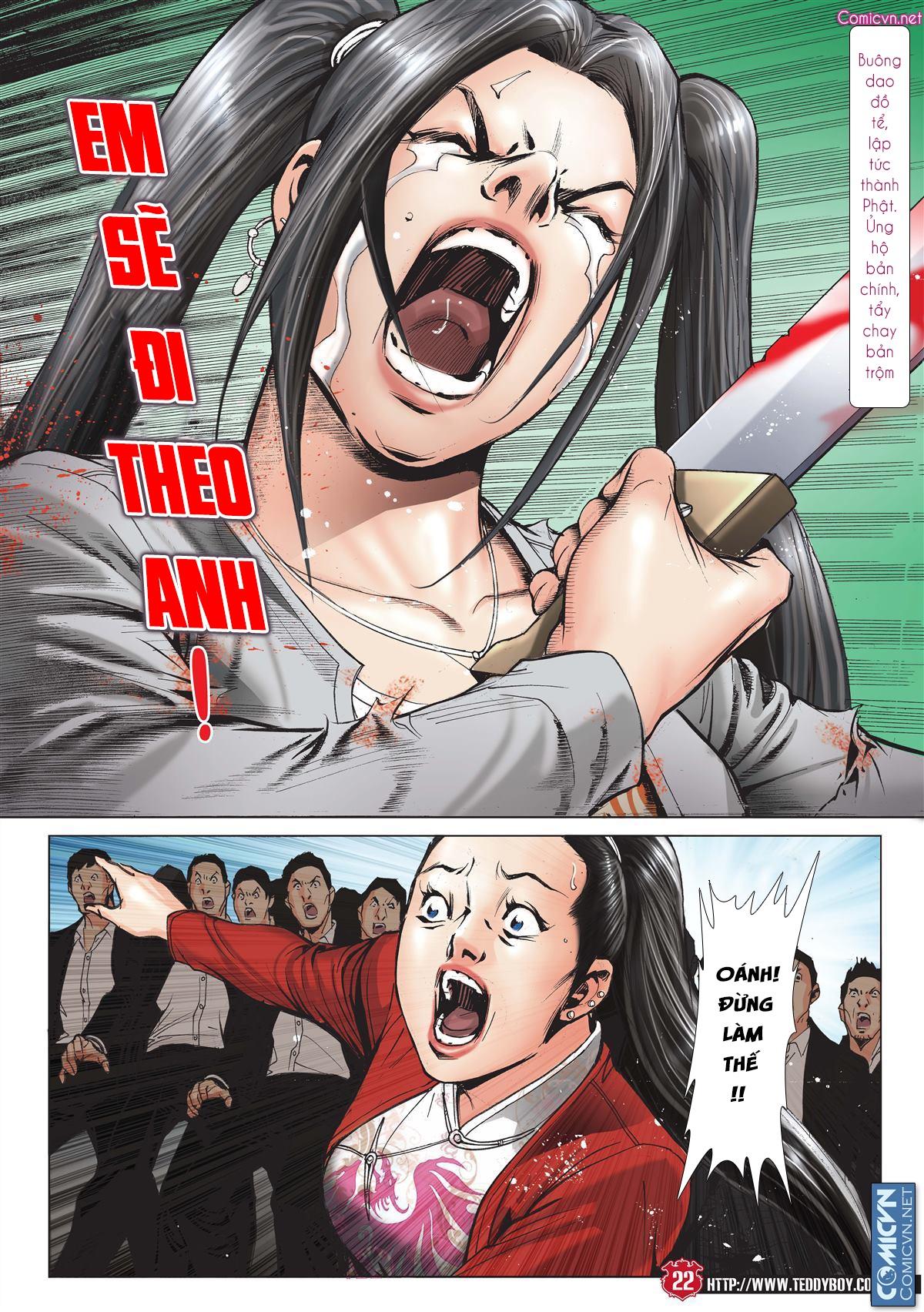 Người Trong Giang Hồ chapter 2001: tự tận trang 21