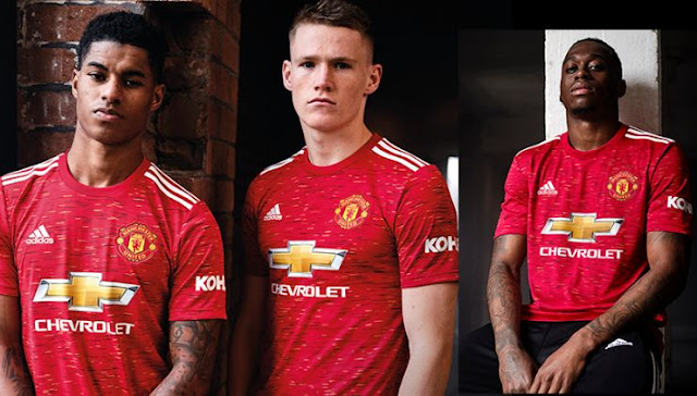 Jersey Kandang Manchester United 2020-2021