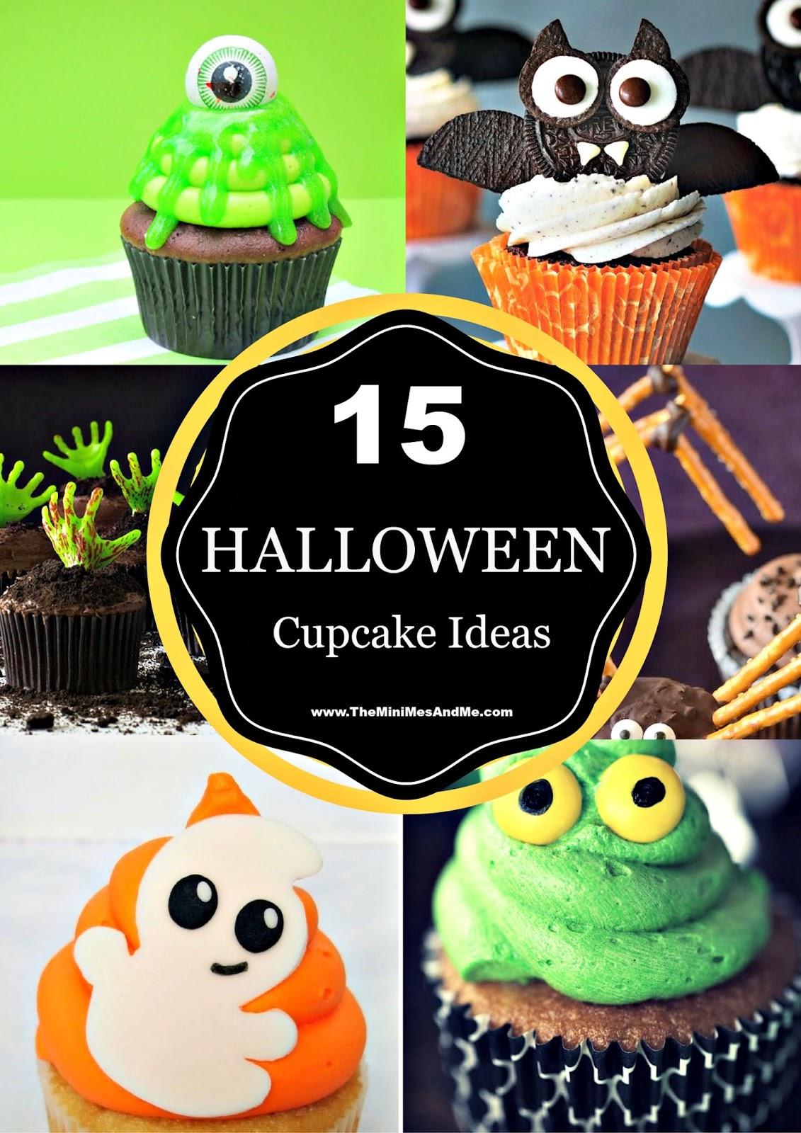 15 Spooktacular Halloween Cupcake Ideas The Mini Mes And Me