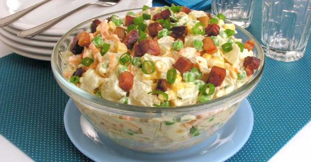 G1 Divino Sabor Receita de Salada de Batata e Bacon