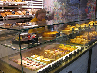 Sweets behind the Glass