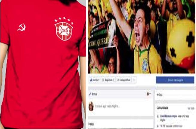O sucesso na Internet da camiseta vermelha da seleção brasileira dae18a63b90f8