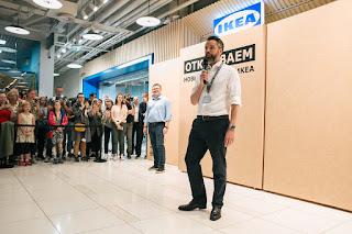 IKEA открытие в Москве