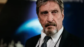 'His last words to me were I love you': John McAfee was not committing suicide, says widow