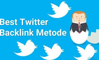 Manfaatkan Twitter Sebagai Metode Penanaman Backlink