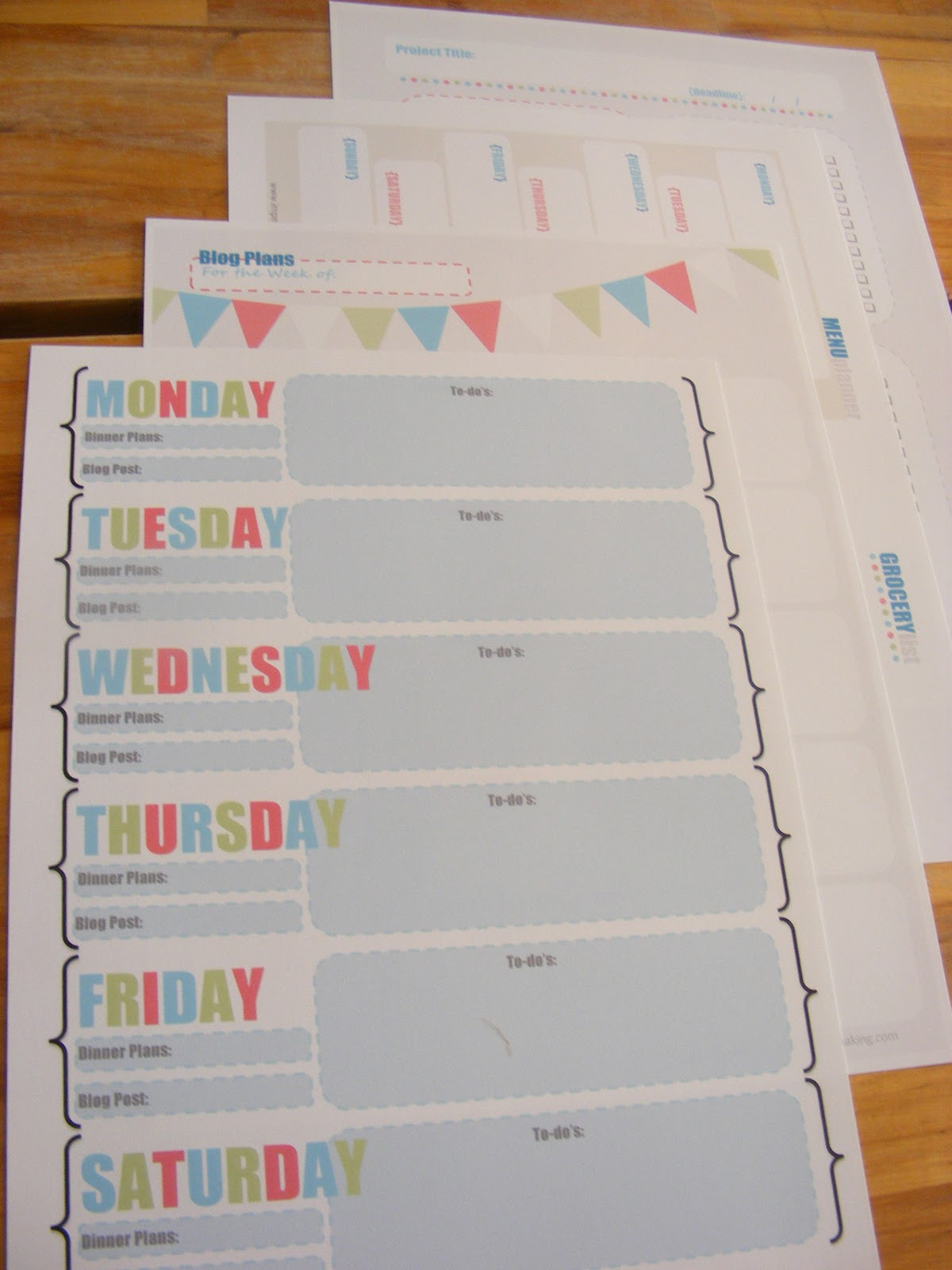 Free Printables To Help Organize Your Life