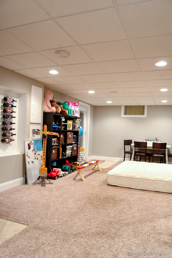 Rare Basement Pictures and Current Makeover Plans