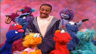 Miles Robinson sings the ABC Hip Hop with Sesame Street characters such as Elmo, Cookie Monster, Rosita, Telly and Zoe. Sesame Street Preschool is Cool ABCs With Elmo