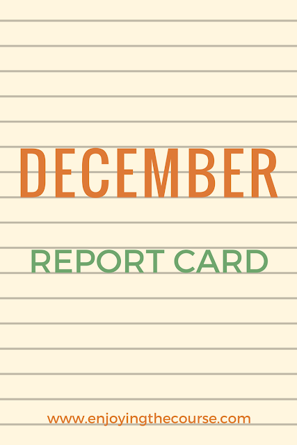 December Report Card