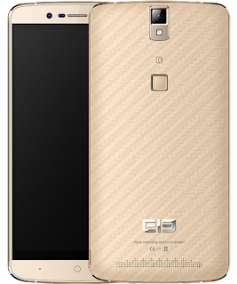 elephone p8000 front and back