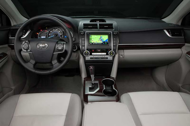 2012 Toyota Camry XLE interior - Subcompact Culture