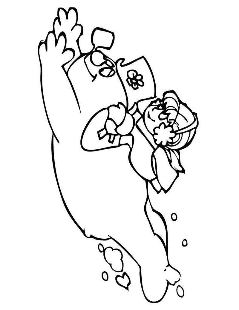 snowmen coloring page - hand me down mom genes 24 christmas books pt 4