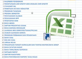 DOWNLOAD 24 ADMINISTRASI GURU DALAM 1 FILE EXCEL TERBARU Serta Kalender Pendidikan 34 Provinsi T.A. 2020/2021 PDF (LENGKAP!!)  - liputan9