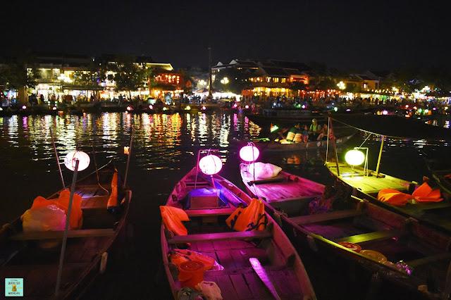 Río Thu Bon, Hoi An