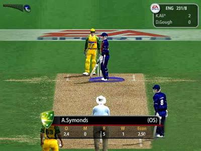 EA Cricket 2000 Game