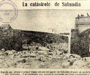 Las Trágicas Lluvias de 1925