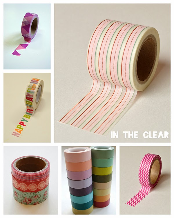 In+the+clear My Favourite Washi Tape Stores