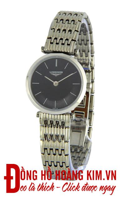 Đồng hồ đeo tay nữ Longines dây Inox giá rẻ tại Hà Nội