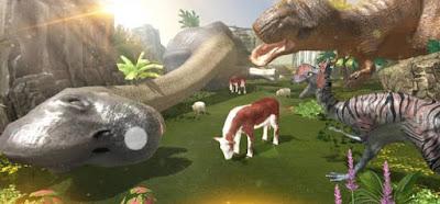تحميل لعبة الديناصور