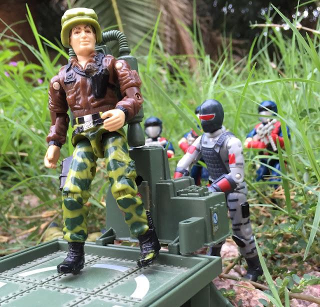 JUMP, Jet Pack, Grand Slam, Sightline, Red Lasers Army, General Hawk, 1986, Cobra Viper
