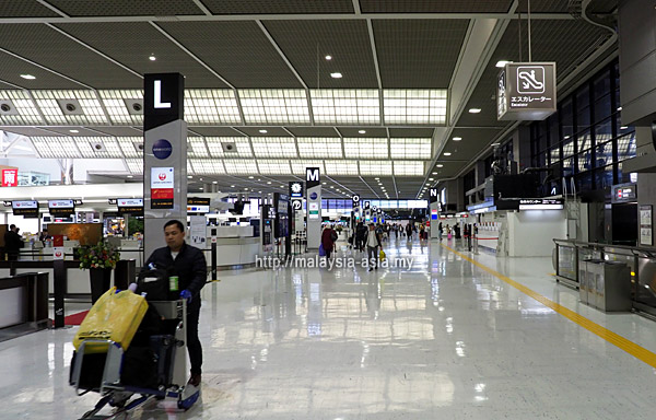 Check-in Counters at Narita Airport